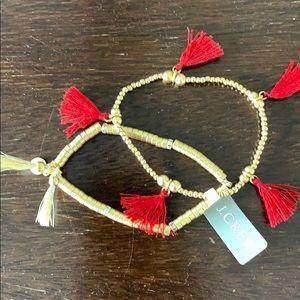 NWT J. crew bracelets